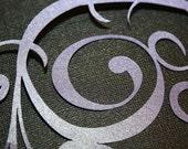 Scrapbooking Scroll 9 - Pearlescent Venus Violet