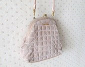 SPECIAL vintage 1980's picardi pink purse
