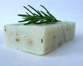 Lavender Soap with Rosemary, Great for oily skin, Vegan Olive Oil Soap, Rich Green Castile Soap