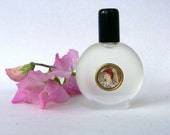 Violet perfume oil, natural perfume oil, flowers, flower, vintage images