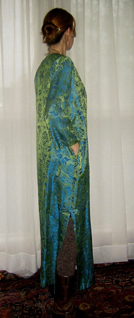 Vintage 1960's Long Evening Jacket Duster Size Small