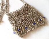 Aluminum Purse-Necklace