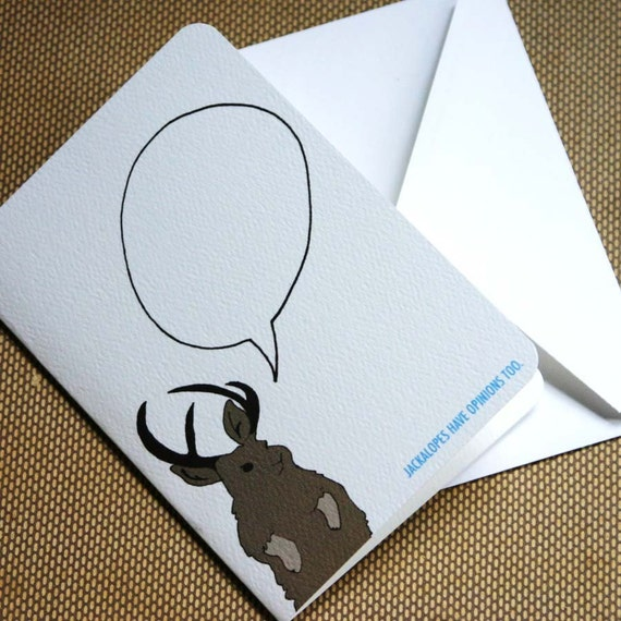 Jackalope Says Mini Notecard Set (set of 6)