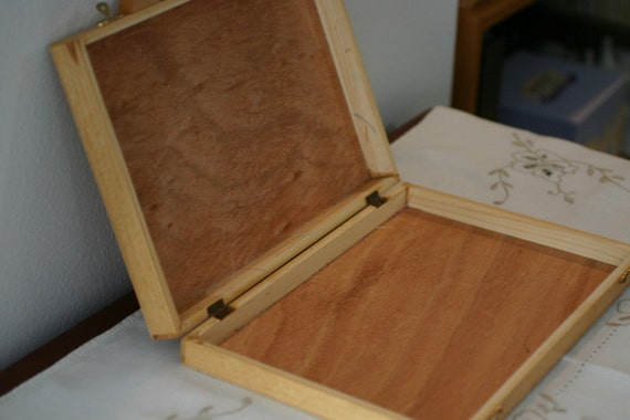 Wooden Box For Art Crafts