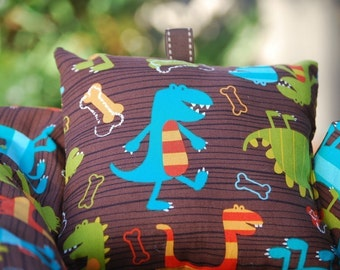 Shopping Cart Cover - Custom Boutique shopping Cart Cover for Boy or Girl -  Dino Dudes