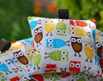 Shopping Cart Cover for Boy or Girl- Custom by Tinder Designs Boutique  -  Zoologie Bermuda Owls