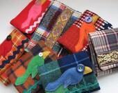 Really Groovie...CustomVintage Fabrics Wallet