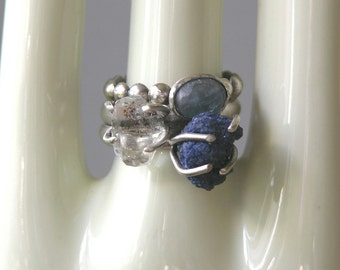 Got The Blues Stacking Ring Set