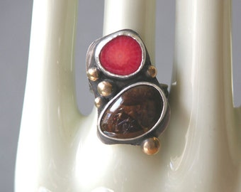 Fire And Earth Ring