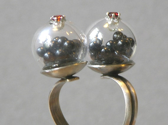 Double Orb Ring