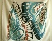 Natural Wing print scarf 4