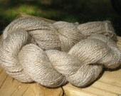 Ivory cream mohair yarn