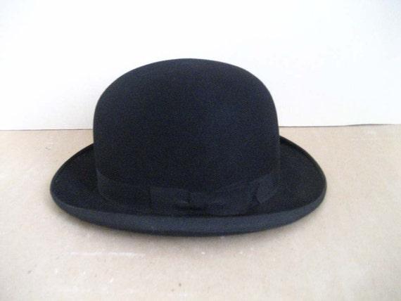 1900s CHAPLIN victorian bowler hat