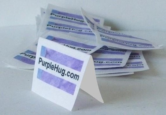 Fabric labels/tags, FRAY Proof, 1 sheet of cut labels - Sew in seam - Custom, Personalized, Full color, Washable -  supplies