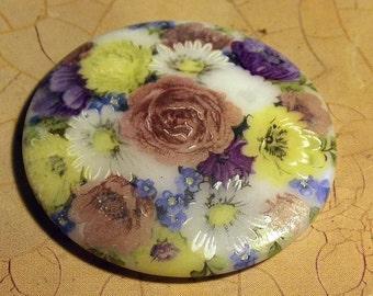 Victorian Style Vintage Porcelain Cabochon