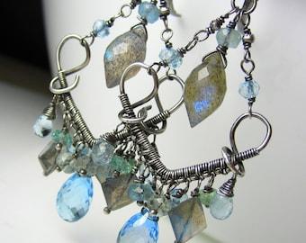 The Blue Lagoon Earrings