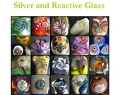 Lampworking tutorial Murrini Cookbook Silver and Reactive Glass