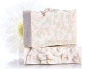 SALE Dreamy Confetti Coconut Lime Verbena cold process soap. Made with coconut milk. Theme Fragrance