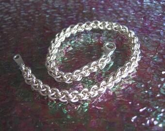 Argentium Silver JPL Chainmaille Bracelet