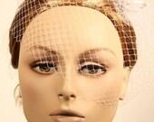 RESERVE LISTING FOR MAGGIE - ELISE birdcage veil