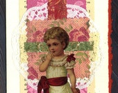 Collage Greeting Card ... Return of the Charm