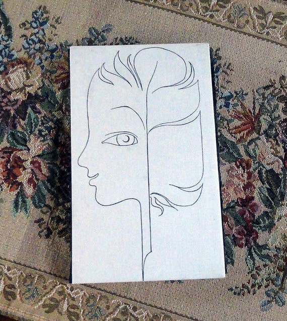 Surreal Woman Feather ... Artist's Journal