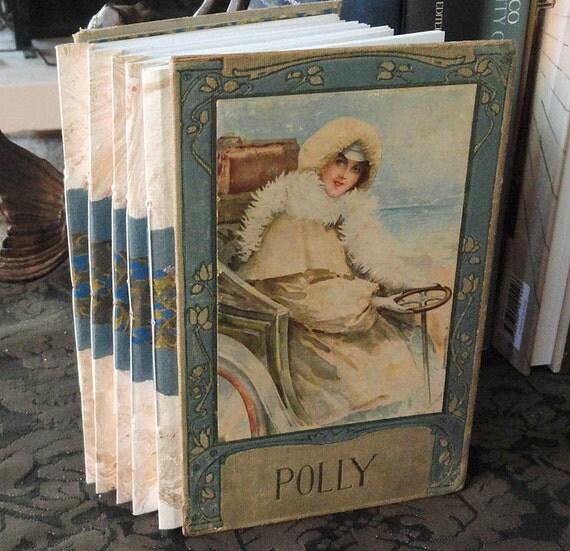 Polly Handbound Concertina Journal