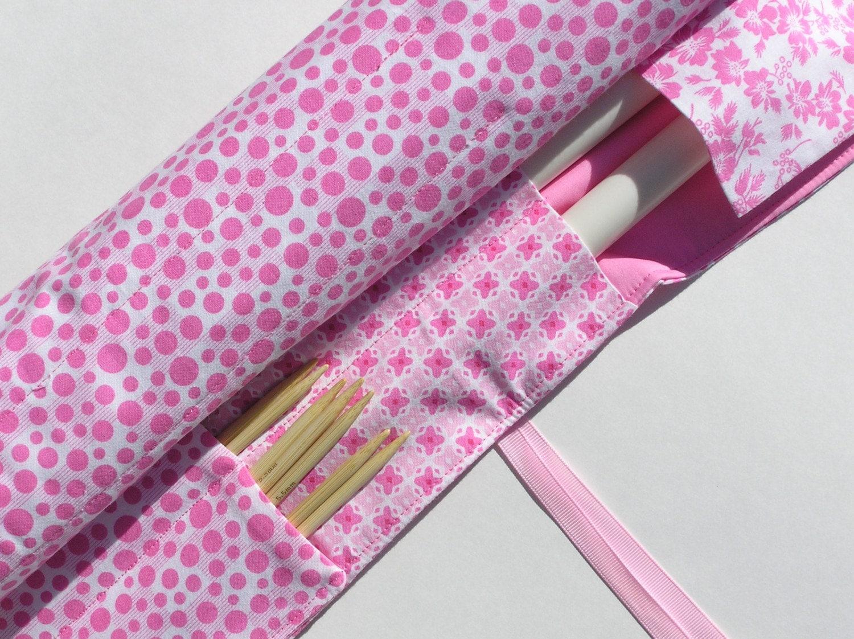 Knitting Needle Organizer Pattern : Knitting Needle Case Organizer Straight by knitonebeadtwo