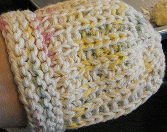 Pattern for Oven Hot Mitt, Pot Holder