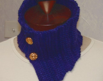 Pattern for Terrific Neck Warmer, Cowl, Scarf