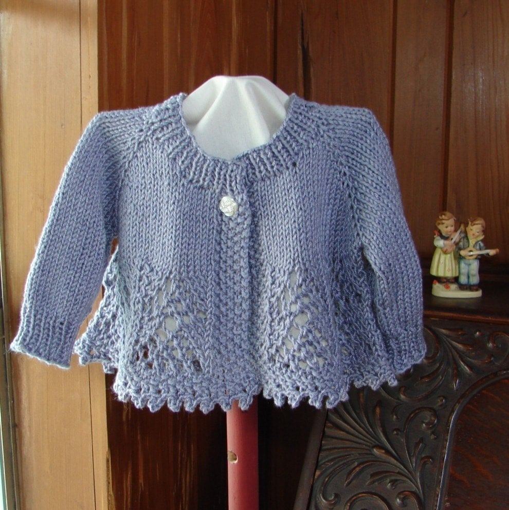 Pattern for lacey baby girl sweater zoom bankloansurffo Choice Image