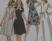 Vintage 1970's Dress Pattern