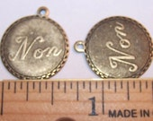 Vintage Brass French Non Charms