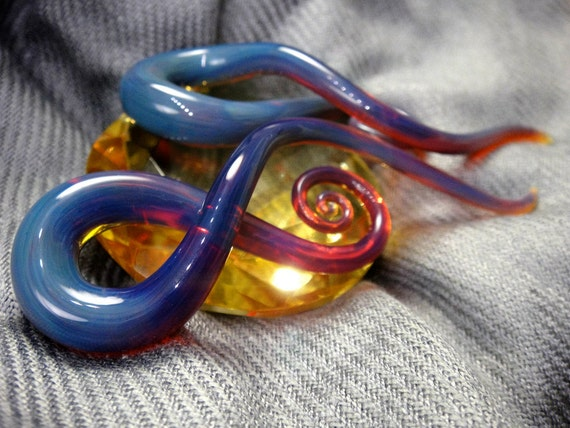 0G - Peacock Amber - Squids (Full Size)