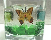 12oz Butterfly Gel Candle Monkey Fart Scented