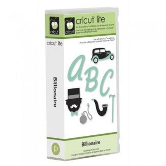 Cricut Lite Billionaire Cartridge