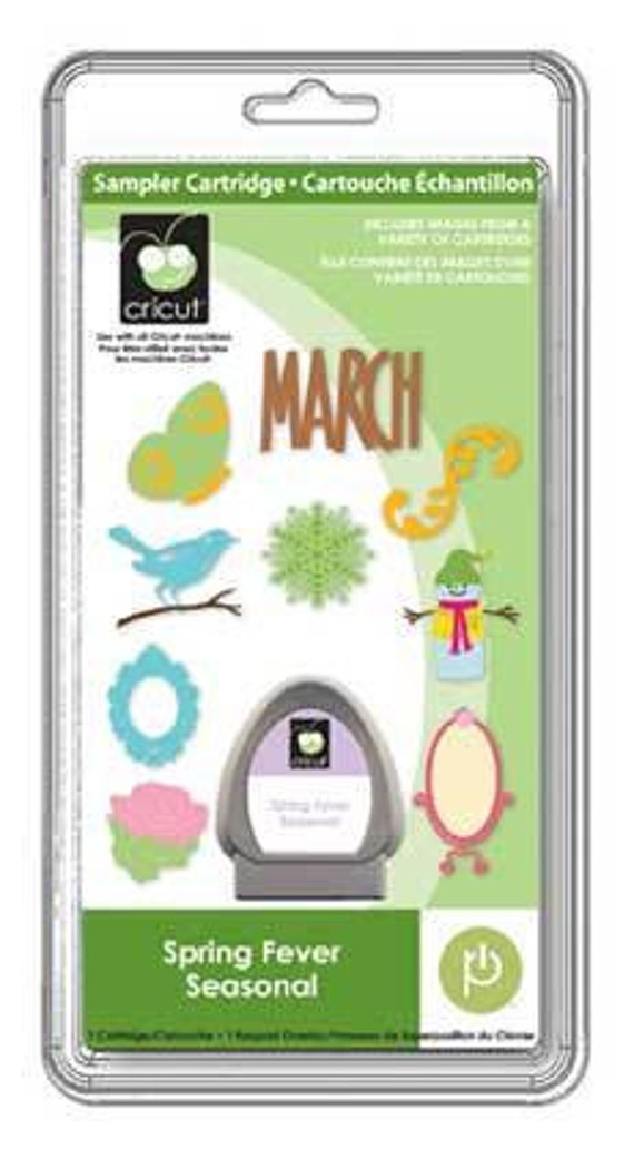 Spring Fever Seasonal Cricut Cartridge Rare New in Sealed Packaging