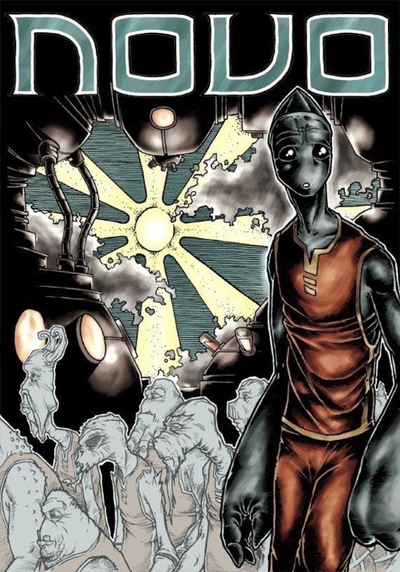 NOVO volume 3 - Survivors - 88 page comic - graphic novel