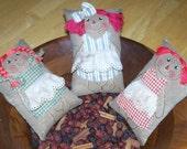 Raggedy Ann Annie Rag Doll Cloth Doll Pattern PDF E Pattern Ornies