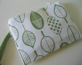 Organic Cotton and Bamboo Wristlet