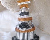 RESERVE for KATHY Halloween Glitter Cake Box : KIT