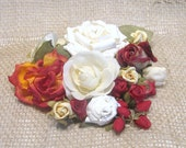 Holiday Inspiration.....Floral Assortment Red and Cream........No.2