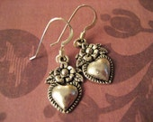BACK TO BASICS  Be My Valentine (Silver Heart Earrings)  PIF