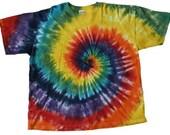 Rainbow Spiral Tie-Dye T-Shirt (2XL)