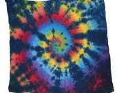 Rainbow Spiral Tie-Dyed Headwrap, Wallhanging, or Tablecloth