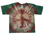 Natural Peace Sign 4T Tie-Dye T-Shirt