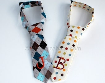 NEW  Personalized Infant & Toddler Neckties - You Choose Your Favorite -