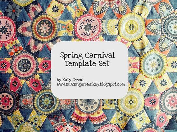 Spring Carnival Template Set