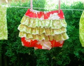 Easy Bloomers Pattern for Girls - PDF Sewing Pattern - Ruffled Bloomers or Plain