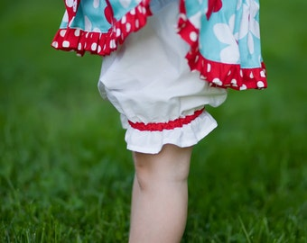 Girls Bloomers Pattern - DIY Pantaloons PDF Sewing Pattern